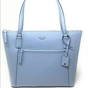 Kate spade Cameron large pocket tote early dawn